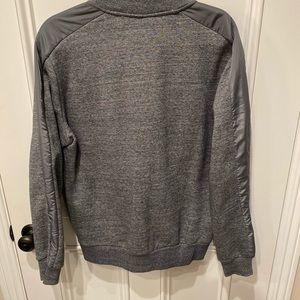 FORBIDEFENSE Mens Bomber Jacket Coat Sweatshirt Full Zip Varsity Sport Outwear Fleece Jacket